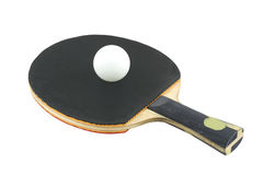 Sport ping pong. Black and ball Stock Photography