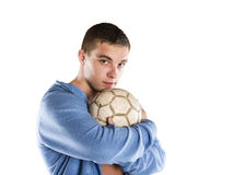 Sport player Stock Image