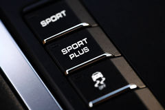 Sport Plus switch Royalty Free Stock Photography