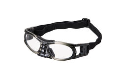 Sport protective glasses. Sport glasses on perfectly white background Royalty Free Stock Photography