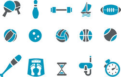 sport réglé de graphisme Photographie stock