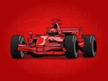 Sport race car pop art style vector Stock Images