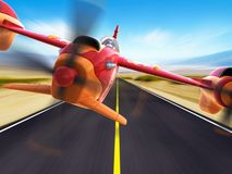 Sport racing aircraft Royalty Free Stock Images