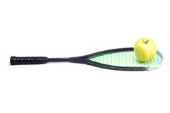 Sport racket on white background Stock Photography