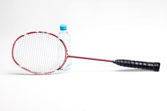 Sport racket on white background Stock Image
