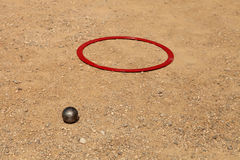 Sport and Recreation - Petanque,  Marseille, Royalty Free Stock Photos