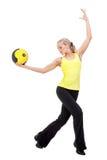 Sport-Reihe: Yoga Lizenzfreies Stockfoto