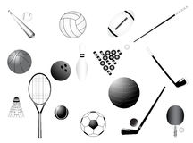 Sport requisites Stock Photo