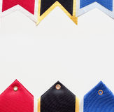 Sport ribbons background Royalty Free Stock Image