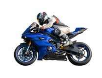Sport Rider Motorcyclist Royalty Free Stock Photos