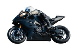 Sport Rider Motorcyclist Royalty Free Stock Images
