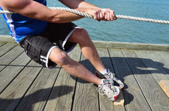 Sport - Rope Pulling Stock Photos