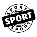 Sport rubber stamp Royalty Free Stock Images