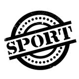 Sport rubber stamp Royalty Free Stock Photo