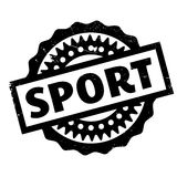 Sport rubber stamp Stock Image