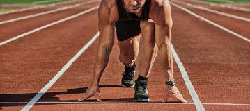 Sport. Runner. royalty free stock photography