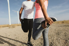 Sport and running concept Royalty Free Stock Image