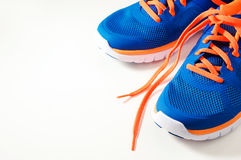 Sport running shoes stock photography