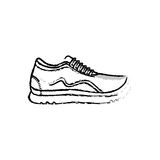 Sport running sneaker Royalty Free Stock Photos
