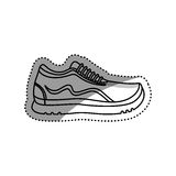 Sport running sneaker Royalty Free Stock Image