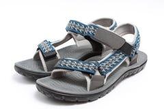 Sport sandal. Isolated on white background Stock Photos