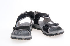 Sport sandals royalty free stock photo