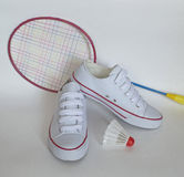 sport Scarpe da tennis Fotografia Stock Libera da Diritti