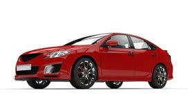 Sport-schnelles Auto stock abbildung