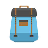 Sport or school bag vector isolated Royalty Free Stock Photography