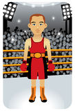 Sport series: Boxer Royalty Free Stock Image