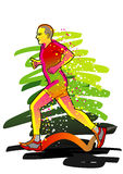 Sport series: Runner Stock Photos