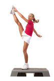 Sport Series: Step Aerobics Stock Photo