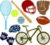 Sport set 02 Royalty Free Stock Photos