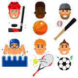 Sport  set. Royalty Free Stock Images