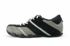 Sport shoe. Isolated on a white Royalty Free Stock Photo
