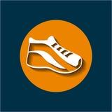 Sport shoe icon Royalty Free Stock Image