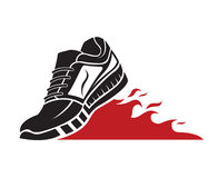 Sport shoe icon Stock Photos