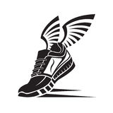 Sport shoe icon Stock Photography