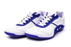 Sport shoe isolated. On the white background Royalty Free Stock Photography
