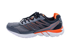 Sport shoe  over white Royalty Free Stock Photos