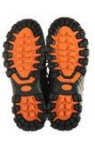 Sport shoe sole. Isolated on white background stock photos