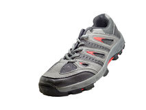 Sport shoe on white Stock Images