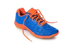 Sport shoe. On white background Stock Photography