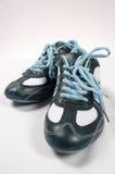 Sport shoes 02. Blue sport shoes stock photos