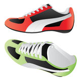 Sport shoes. Vector isolated image of sport shoes Stock Images
