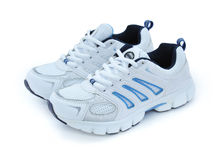 Sport shoes. Sports shoes isolated on white Royalty Free Stock Photos