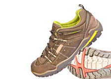 Sport shoes. With white background Stock Photos