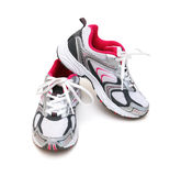 Sport shoes isolated Royalty Free Stock Image