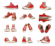 Sport shoes isolated Stock Image