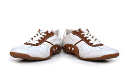 Sport shoes isolated. On the white background Royalty Free Stock Photo